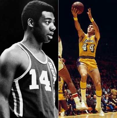 Back in Time: October 19 - 2 - Oscar Robertson and Jerry West