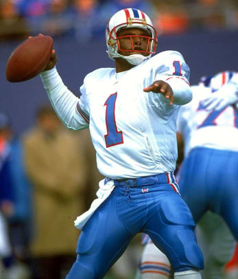 Undrafted Hall of Fame Players - 2 - Warren Moon
