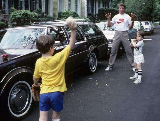 Rare Photos of Peyton Manning - 1 - Archie, Cooper and Peyton Manning