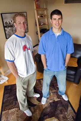 Cribs: Joe Mauer & Justin Morneau - 1 - Joe Mauer and Justin Morneau