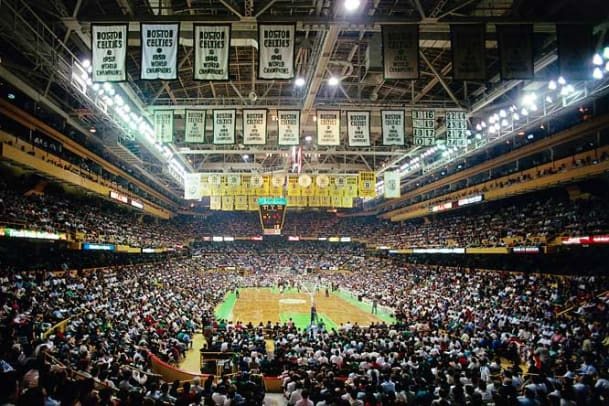 Hoops Style Through the Years - 10 - Old Boston Garden