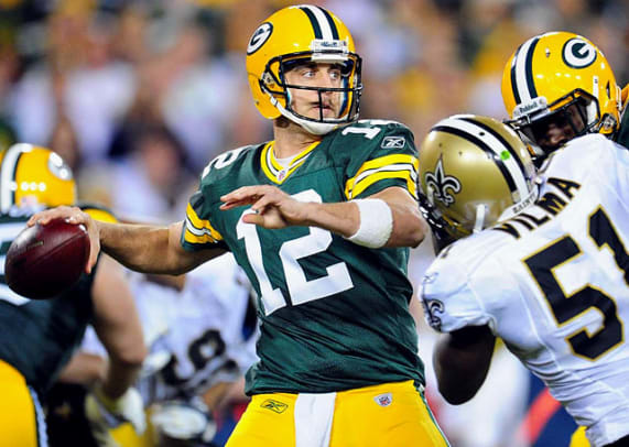 Aaron Rodgers' Dominant Season - 1 - Week 1 Passer Rating: 132.1