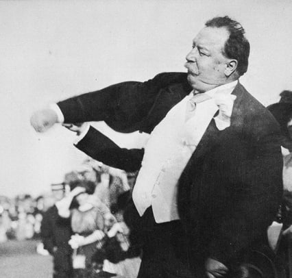 Presidential First Pitches - 1 - William Howard Taft