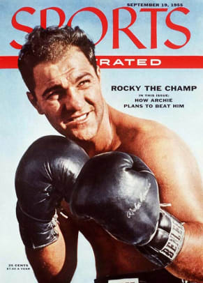 Top 10 All-Time Greatest Heavyweights - 2 - Rocky Marciano