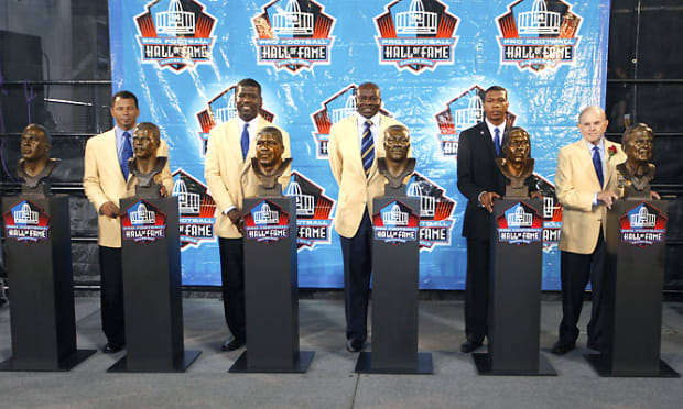 Football Hall of Fame Inductions - 11 - The Six Enshrinees
