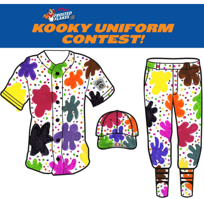 Kellogg's Kooky Uniform Contest Winners! - 6 - The Splat