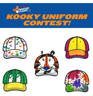 Kellogg's Kooky Uniform Contest Winners! - 1 - The Winners!