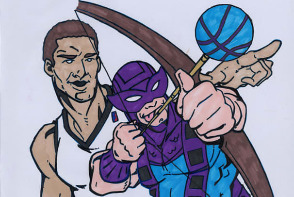 Brook Lopez's Top 10 Comic Book Characters - 1 - Brook Lopez's Top 10 Comic Book Characters