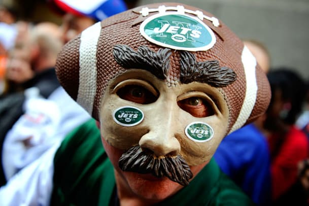 Fans at the NFL Draft - 1 - New York Jets