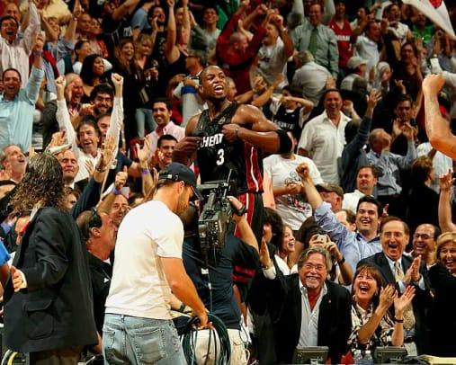2000s: Top 10 NBA Games - 1 - Heat 130, Bulls 127 (2 OT)