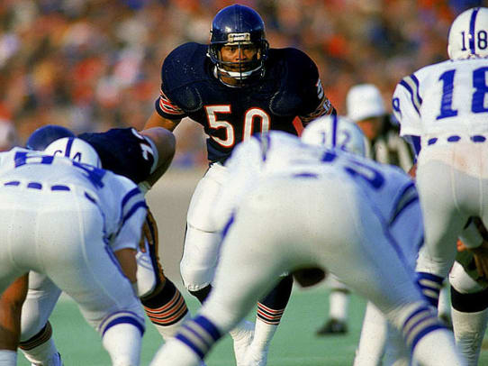 Best NFL Player by Jersey Number: 50-99 - 1 - 50