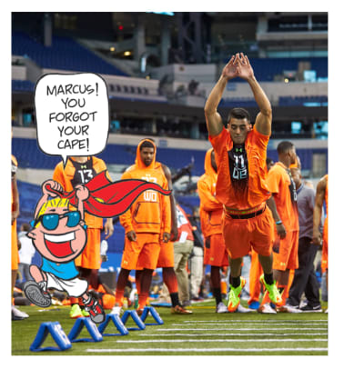 NFL Draft Mockery - 1 - He's a quarterback, not Superman!