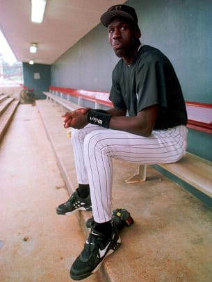 Michael Jordan Playing Baseball - 1