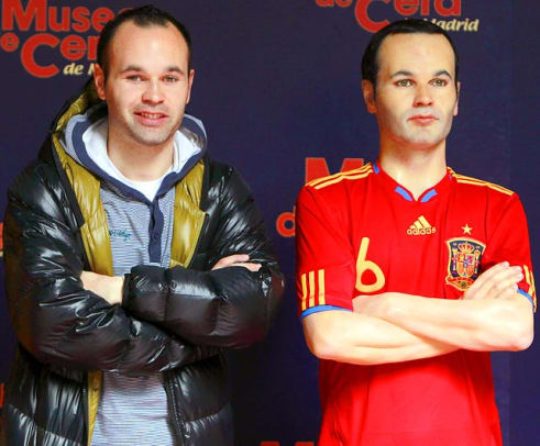 Athletes In Wax - 25 - Andres Iniesta