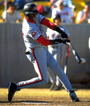 Michael Jordan Playing Baseball - 10