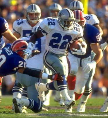 Hall Of Fame Class of 2010 - 2 - Emmitt Smith (1990-2004)