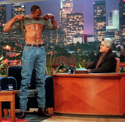 Athletes on The Tonight Show with Leno - 1 - Karl Malone