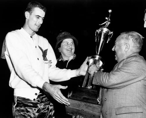 Youngest NBA Players to Win MVP - 1 - Bob Pettit (age 23)