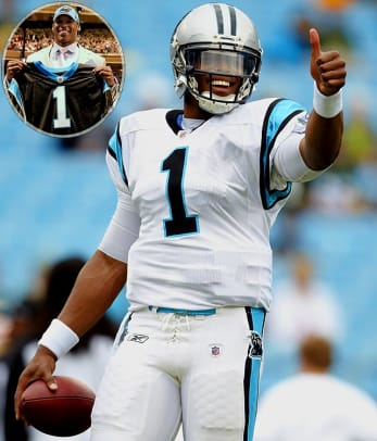 No. 1 NFL Draft Picks of the Past 25 Years - 1 - 2011 - Cam Newton
