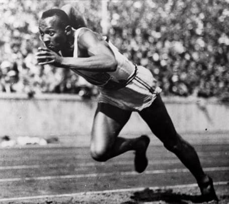 Back in Time: May 25 - 2 - Jesse Owens