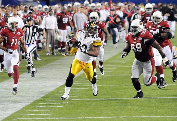Best Defensive Super Bowl Performers - 1 - LB James Harrison, Pittsburgh Steeler