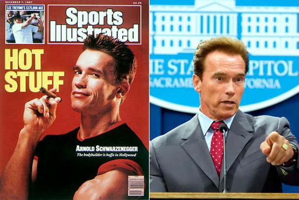 Athletes Turned Politicians - 2 - Arnold Schwarzenegger
