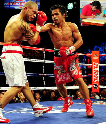 Athletes Turned Politicians - 1 - Manny Pacquiao