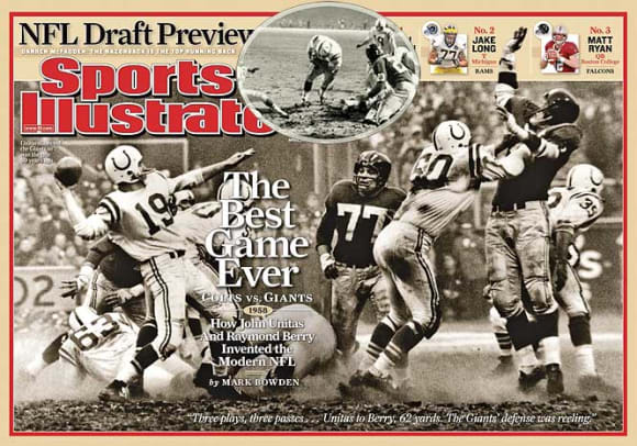 Great Overtime Moments in Sports - 2 - New York Giants-Baltimore Colts
