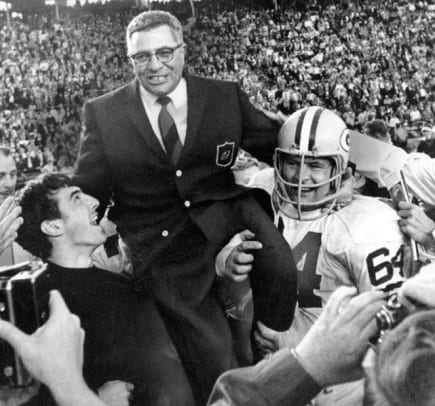 Back in Time: February 1 - 1 - Vince Lombardi