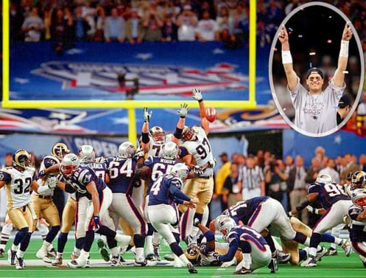 2000s: Top 10 NFL Games - 1 - Patriots 20, Rams 17
