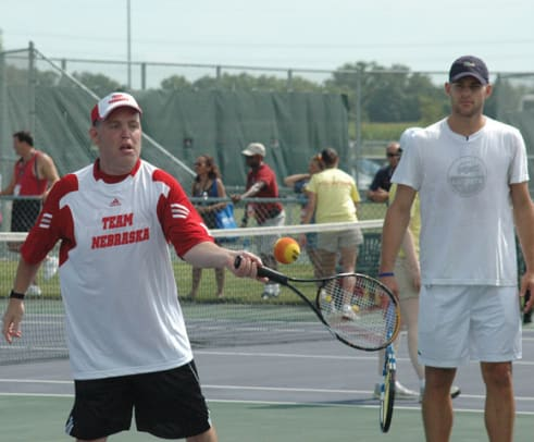 2010 Special Olympics: Andy Roddick Tennis Clinic - 1