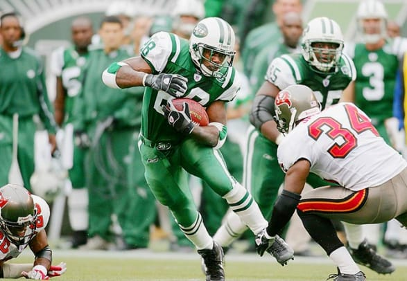 All-time rushing leaders for one team - 1 - Curtis Martin