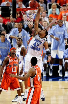 2000s: Top 10 College Hoops Games - 2 - North Carolina 75, Illinois 70 | 2005 NCAA title game