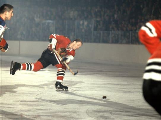 Greatest Moments in Chicago History - 1 - Bobby Hull breaks 50-goal barrier