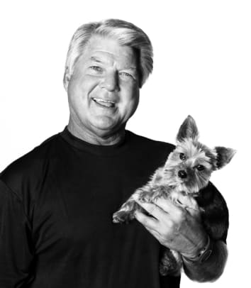 Sports Figures and their Dogs - 2 - Jimmy Johnson, Sports Analyst, Fox Sports