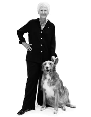 Sports Figures and their Dogs - 8 - Kathy Whitworth, Hall of Fame Golfer