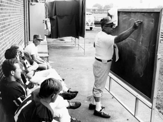 NFL Training Camp Over the Years - 1 - Vince Lombardi