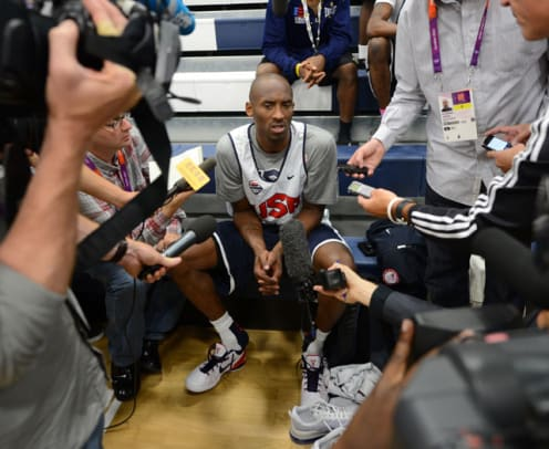 U.S. Men's Basketball Team: Off the Court - 1 - Kobe Bryant
