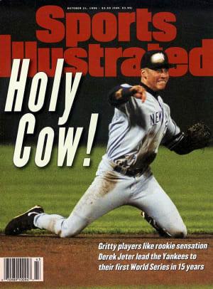 Derek Jeter on the SI Cover - 1 - Oct. 21, 1996