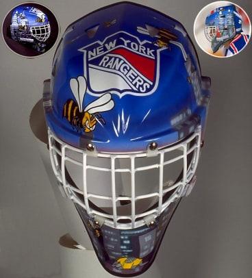 Best NHL Goalie Masks of the '90s - 2 - John Vanbiesbrouck