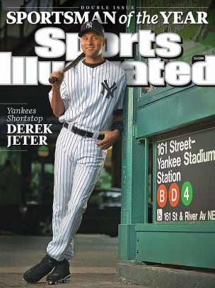 Derek Jeter on the SI Cover - 11 - Dec. 7, 2009