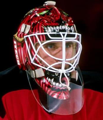 Best NHL Goalie Masks of the '90s - 1 - Mike Dunham