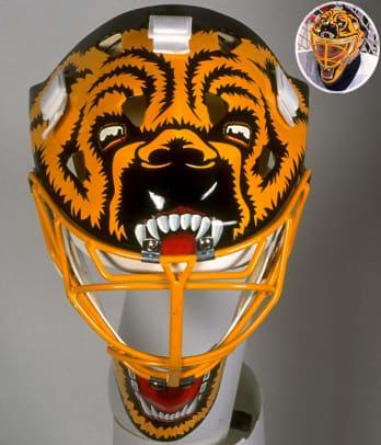 Best NHL Goalie Masks of the '90s - 10 - Andy Moog
