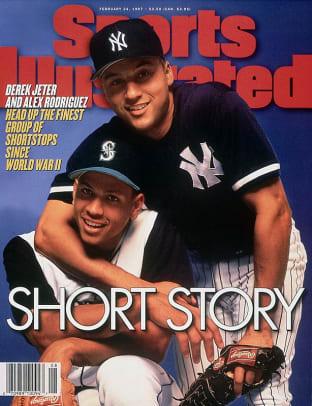 Derek Jeter on the SI Cover - 2 - Feb. 24, 1997