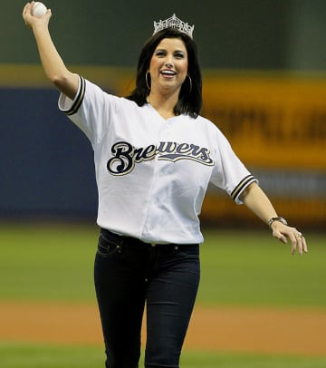 Ceremonial First Pitches of 2012  - 1