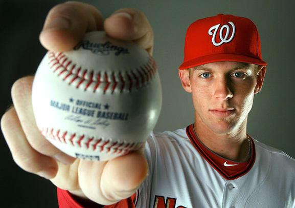 Last 25 No. 1 Picks in MLB Draft - 1 - Stephen Strasburg