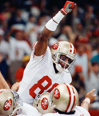 2010 NFL Hall of Fame Class - 2 - WR Jerry Rice