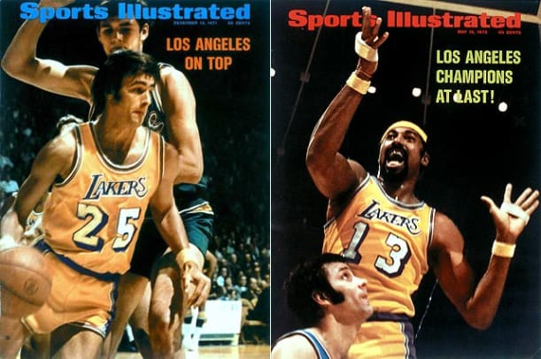 McCallum's Top 10 NBA Teams of All Time - 1 - 1971-72 Los Angeles Lakers