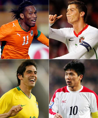 Groups of Death in World Cup History - 1 - 2010   Group G   Brazil/North Korea/Ivory Coast/Portugal