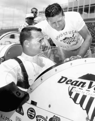 Back in Time: May 12 - 1 - A.J. Foyt